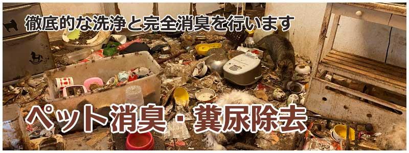 ペット消臭・糞尿除去