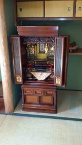 和気町でお仏壇の回収